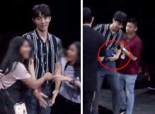 Nam Joo Hyuk hayran buluşmasında hayranların tacizine maruz kaldı