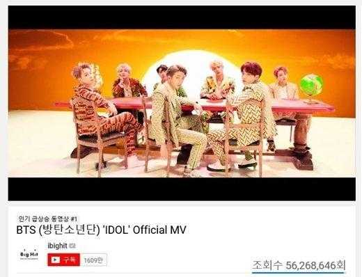 BTS 'IDOL' klibi Taylor Swift'in YouTube rekorunu kırdı