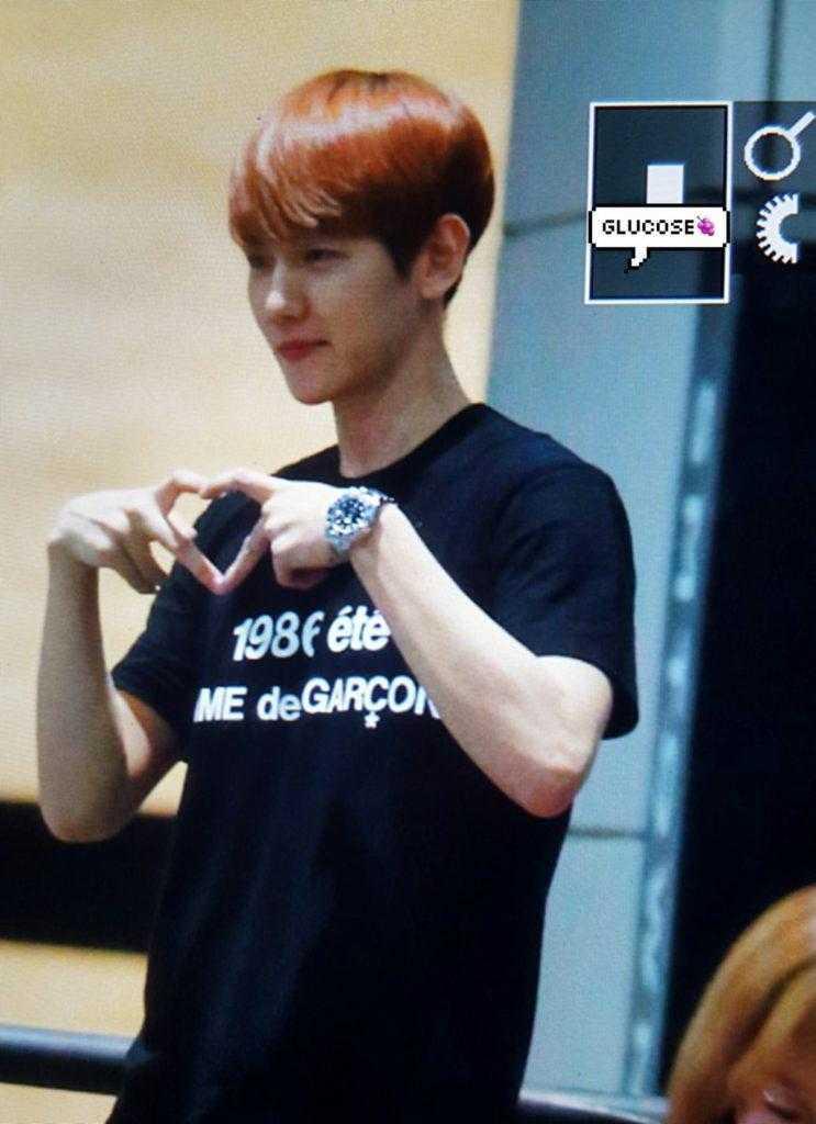 [THEQOO] EXO Baekhyun vücut çalıştıktan önce vs sonra