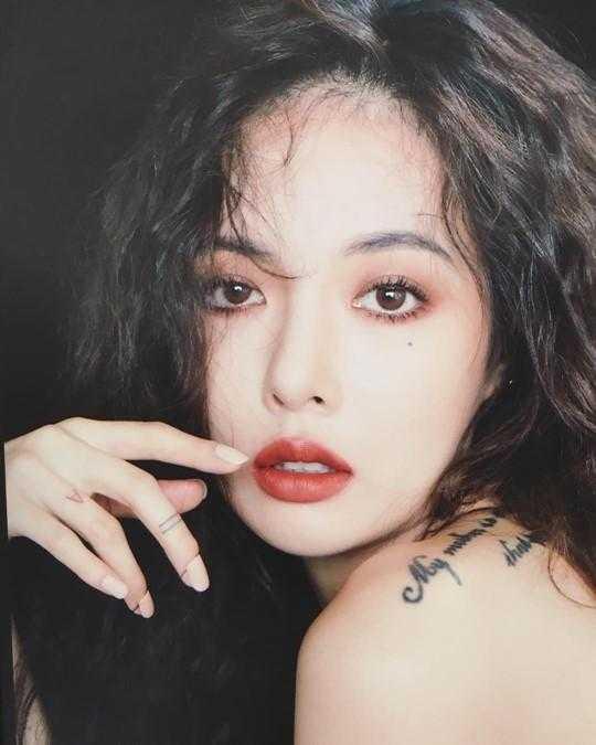 Hyuna Cube skandalından sonra ilk kez Instagram hesabını güncelledi