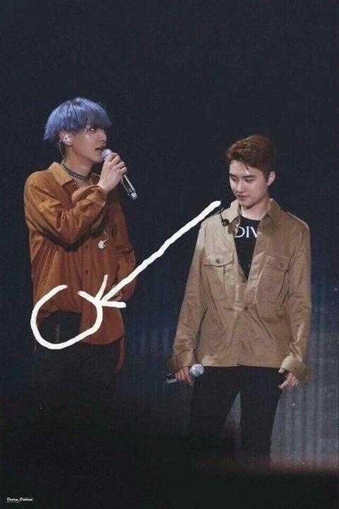 [PANN] EXO üyelerinin yaptıklarını kopyalayan D.O