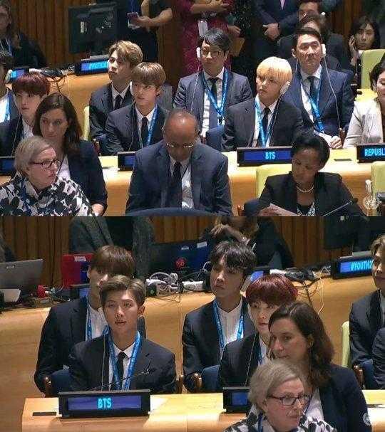 BTS Birleşmiş Milletler'de konuşma yaptı