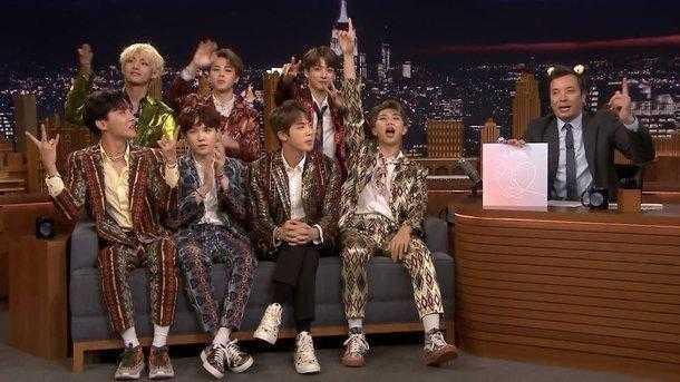 BTS RM 'The Tonight Show'da Birleşmiş Milletler'deki konuşmasından bahsetti