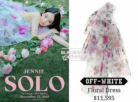 [PANN] Jennie'nin solo teaserındaki elbisesinin maliyeti