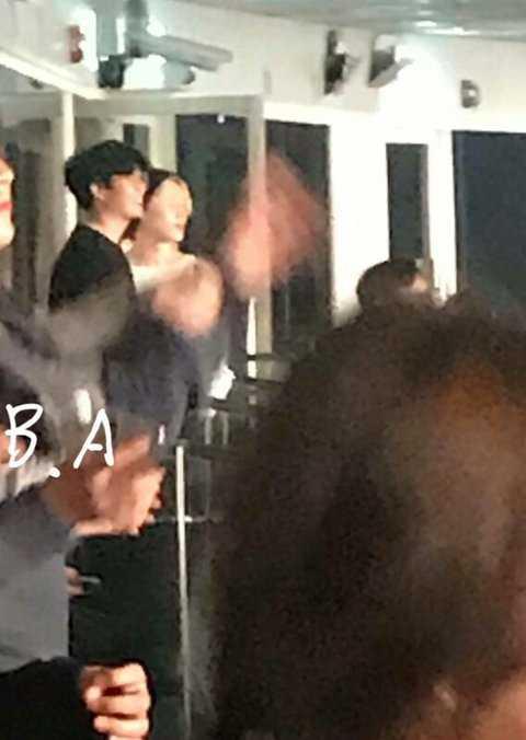[PANN] BTS ve EXO'dan üyeler Wanna One konserini izlemeye gitti