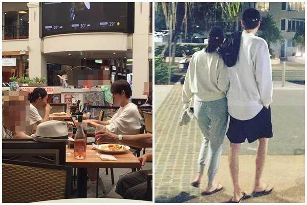 Kim Woo Bin ve Shin Min Ah Avustralya'da görüldü