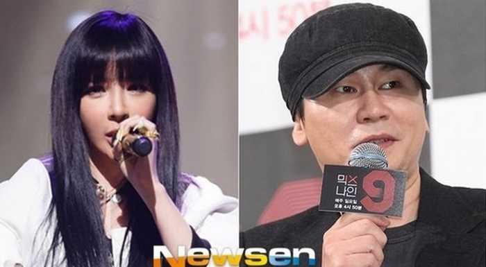 Yang Hyun Suk, Park Bom'a solo geri dönüşünde iyi şanslar diledi