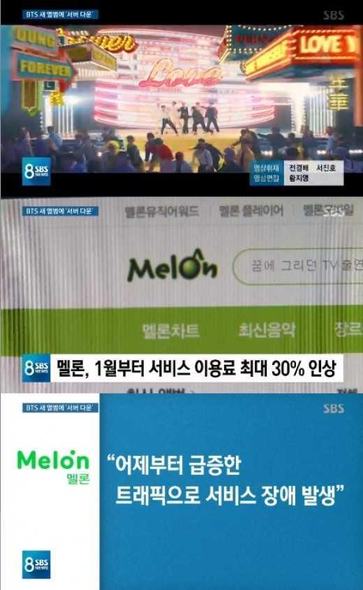 Melon'un sunucuları 2 gündür BTS geri dönüşü sebebiyle mi çökmüş durumda?
