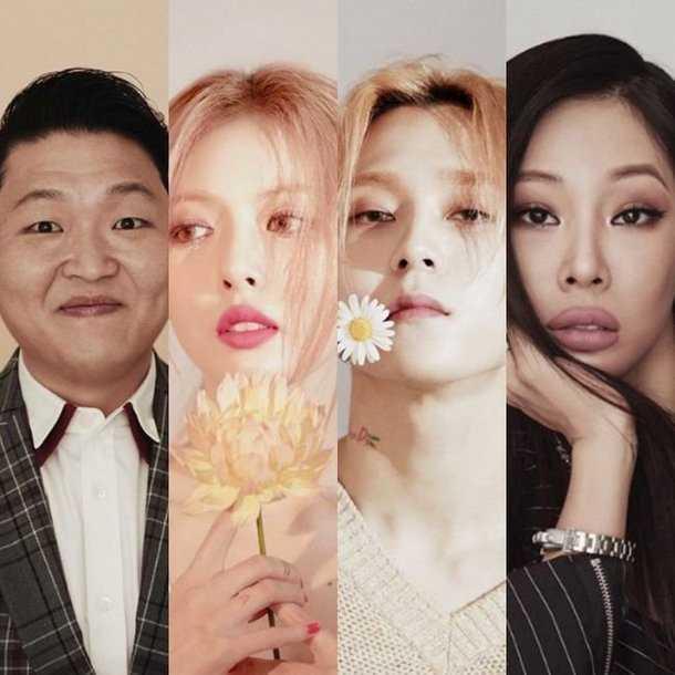 Psy'ın şirketi P. Nation sanatçılarının profil fotoğrafları yayınlandı