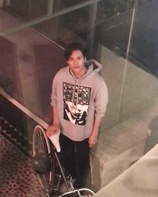 Won Bin'in son fotoğrafları bir güvenlik kamerasından elde edildi