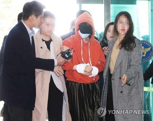 Hwang Hana, uyuşturucu kullandığı ve gizli kamera görüntüleri yaydığı için tutuklandı
