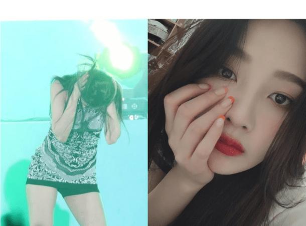 Red Velvet Joy'un havai fişeklerden ötürü ödü koptu