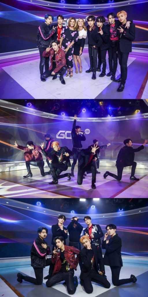 GOT7, ünlü talk şov NBC 'Today Show'a konuk oldu