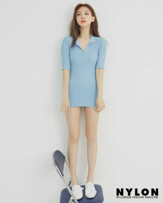 Twice Nayeon 'Nylon' dergisine poz verdi