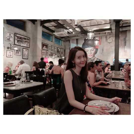 SNSD Yoona Bali tatilinden fotoğraflar paylaştı