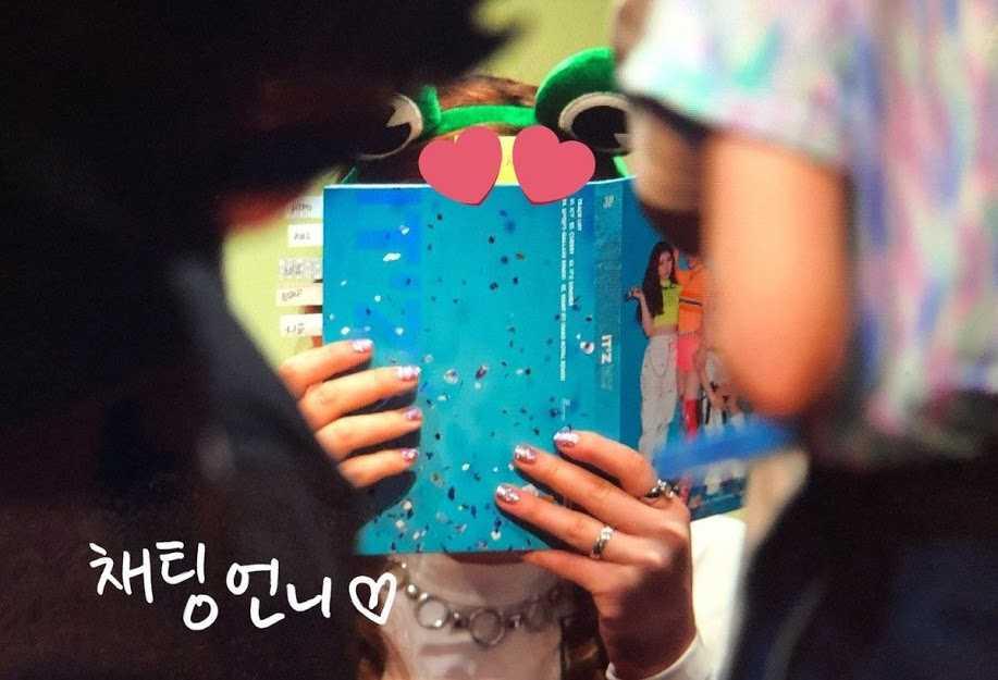 [THEQOO] ITZY Chaeryeong imza gününde ağladı