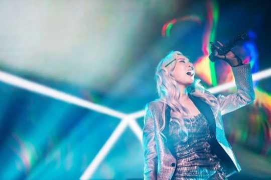 Tiffany 3 yıl sonra Kore'de konser verdi