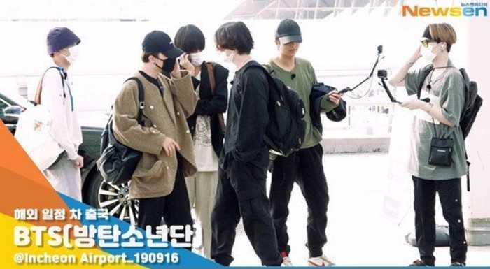 BTS'in tatili sona erdi ve işe geri döndüler