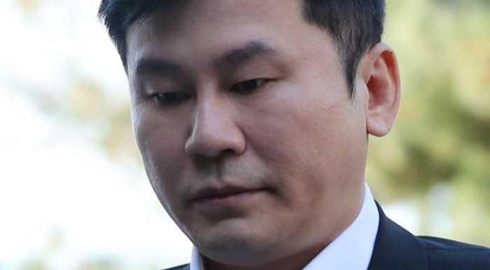 Yang Hyun Suk polis soruşturmasına giderken görüntülendi