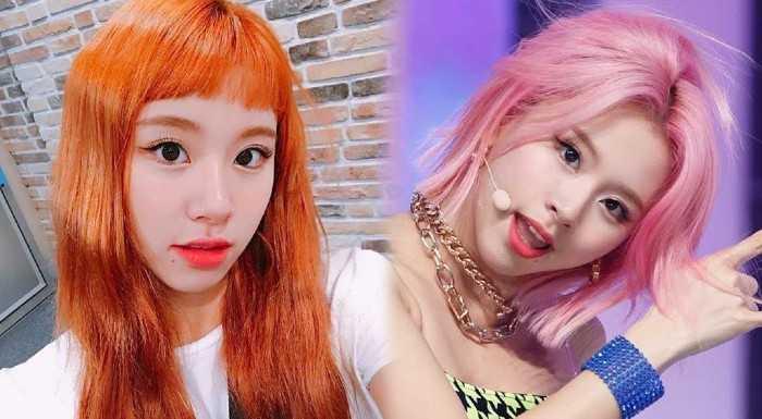 [PANN] TWICE Chaeyoung'ın denediği saç tarzları
