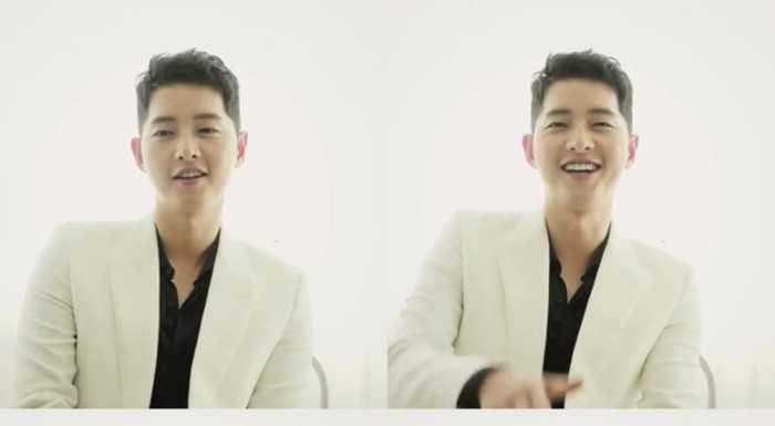 Song Joong Ki 'Hi High' teaserında gülümsedi