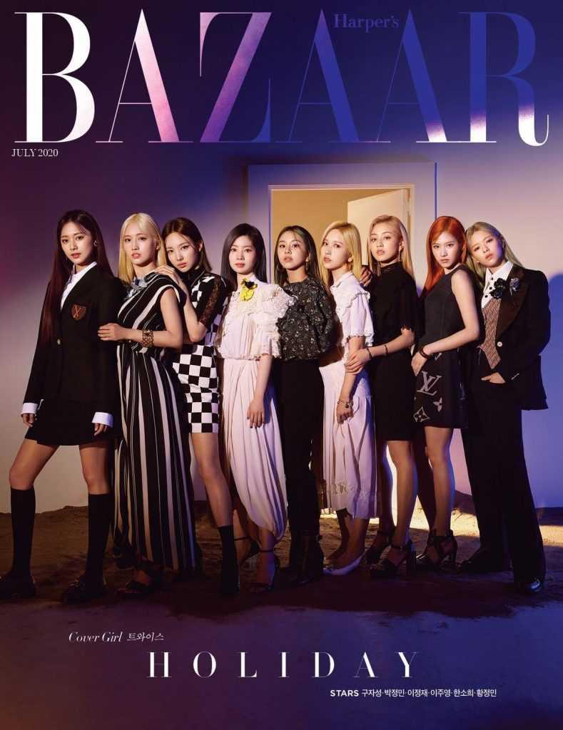 [THEQOO] Twice üyelerinin dergi kapakları