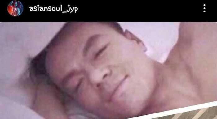 [THEQOO]Park Jin Young'ın pozuyla dalga geçen JYP sanatçıları