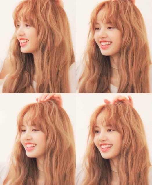 [THEQOO]Netizenler perçemlerini ayıran Lisa hakkında görüşlerini paylaştı