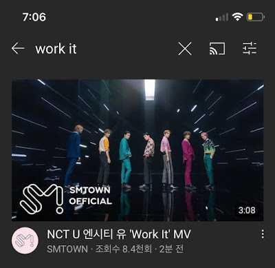 [THEQOO] SM, NCT U 'Work It' klibini ve Taemin'in videosunu geç yayınladı