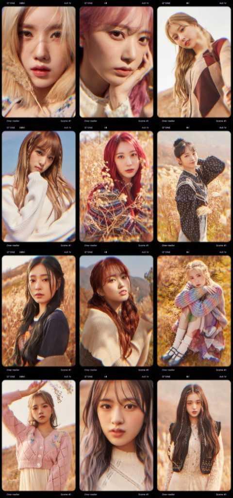 izones 4th mini album one reeler teaser photo scene 1 13