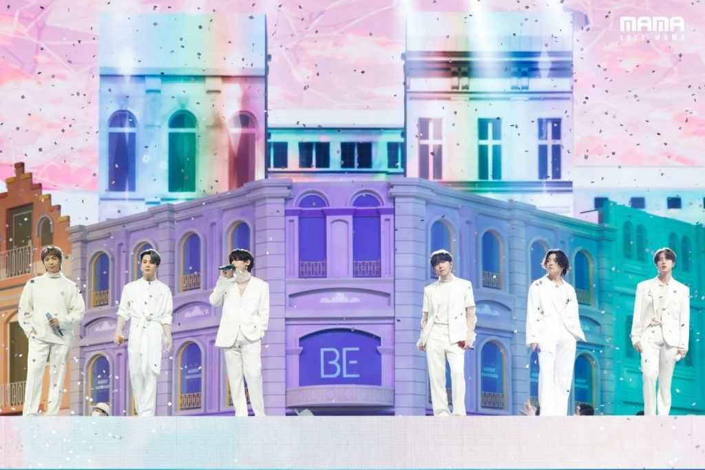 btss stage scale at mama 8