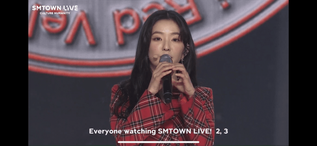 irene at smtown live 4