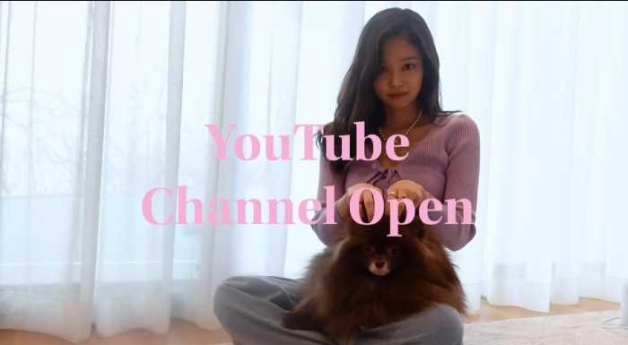 [THEQOO]Black Pink Jennie YouTube kanalı açtı