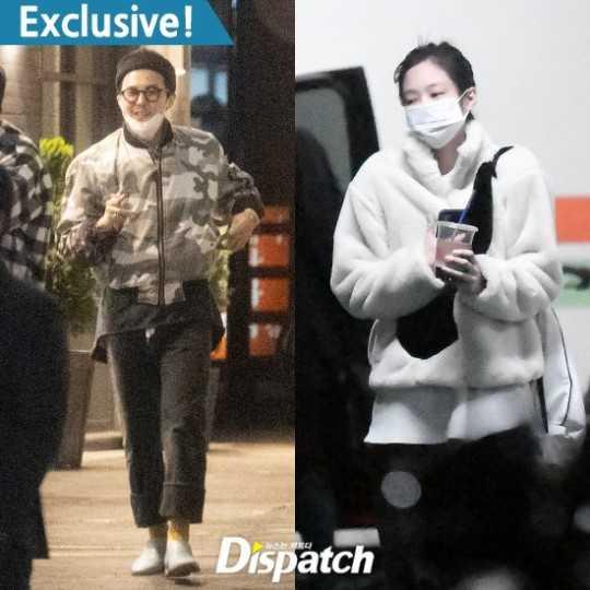 Dispatch, G-Dragon ve Jennie'nin 1 yıldır sevgili olduğunu açıkladı