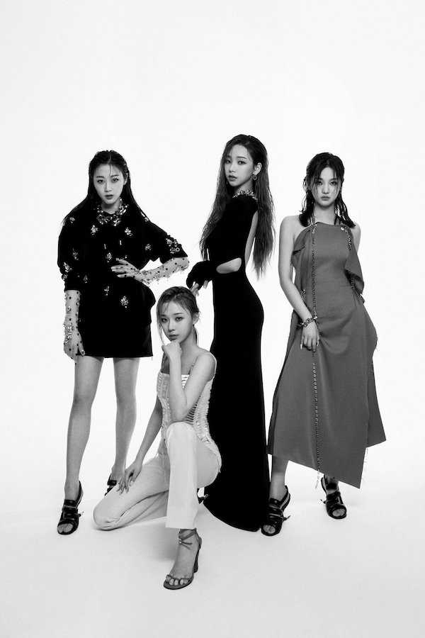 sms girl group aespa was selected as the ambassador for the brand givenchy 1