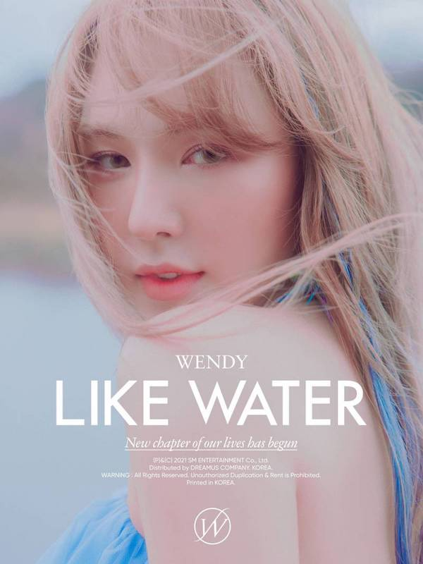 red velvet wendys first solo debut teaser photo