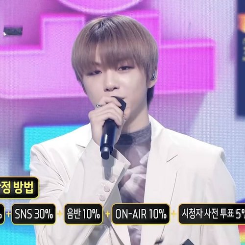 kang daniels encore live stage on inkigayo today 2