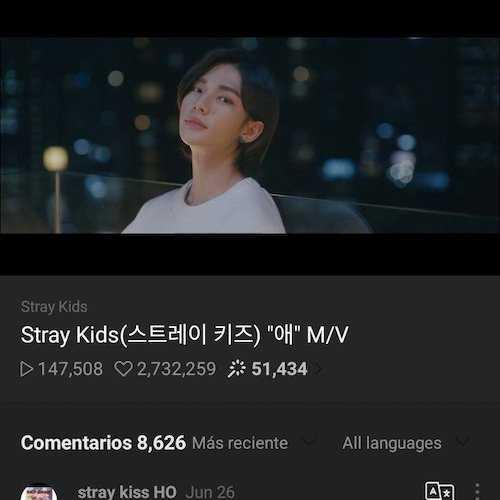 hyunjin in stray kids mv just released 1