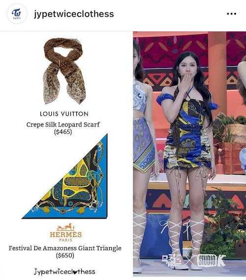 twices new promotional outfits seem to be inspired by luxurious scarves 5
