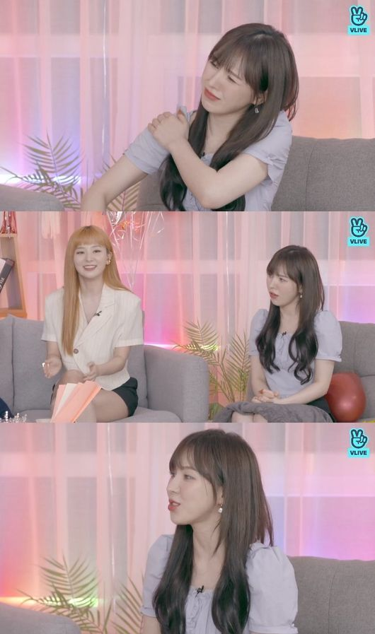 red velvets wendy mentions her accident at gayo daejeon
