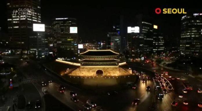 bts x global citizen live permission to dance at sungnyemun 2
