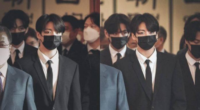 jeon jungkook was filming a spy drama 1 1152x1536 1